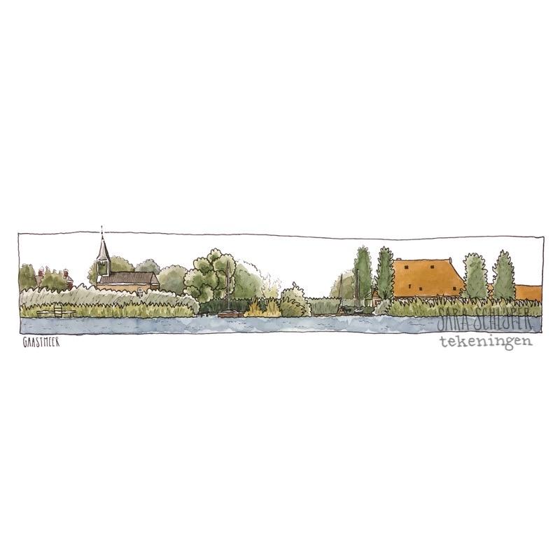 Tekening Gaastmeer